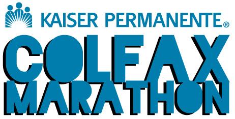 Marathon Running Logos Colfax Marathon Logo