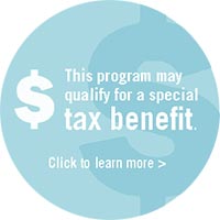 This program may qualify for a special tax benefit. Click to learn more.